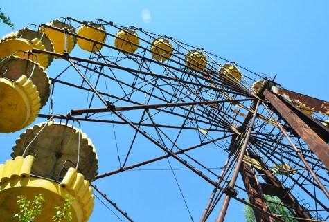 Ferris Wheel at the amusement park in Pripyat, Chernobyl Exclusion Zone, Ukraine