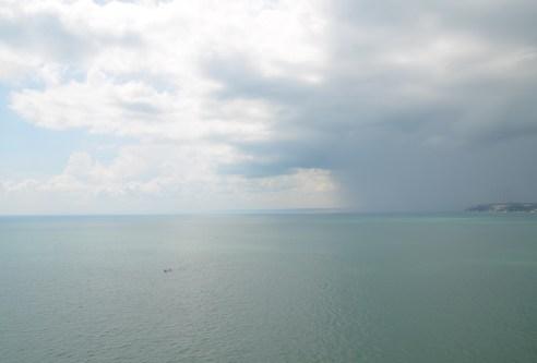 Storm off the coast at Kaliakra, Bulgaria