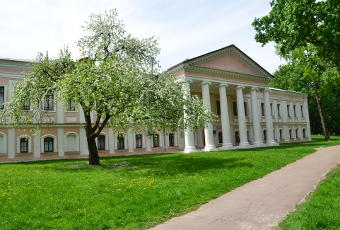Chernihiv State Archives at Detinets Park in Chernihiv, Ukraine