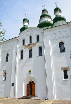 Assumption Cathedral at Eletsky Monastery in Chernihiv, Ukraine