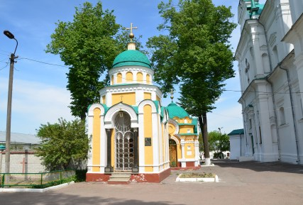 Stephanovic Chapel-Tomb at Trinity Monastery in Chernihiv, Ukraine