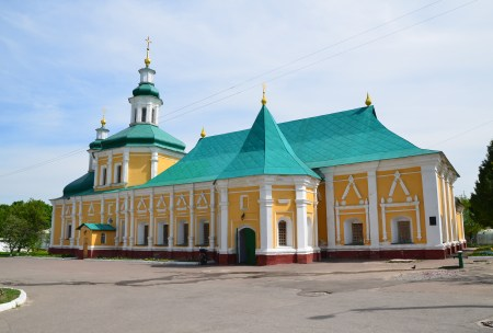 Vedenskaya Church at Trinity Monastery in Chernihiv, Ukraine