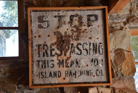 Mercantile at Fielding Garr Ranch at Antelope Island State Park in Utah