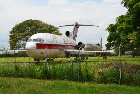 AeroSucre Boeing 727-100 at Museo Aéreo Fénix in Palmira, Valle del Cauca, Colombia