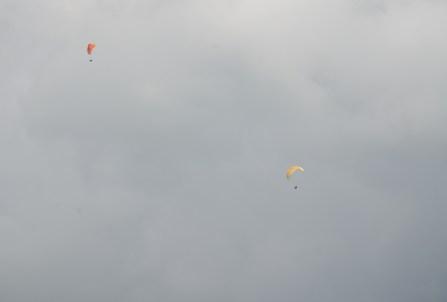 Paragliding at Hacienda El Paraíso in Valle del Cauca, Colombia