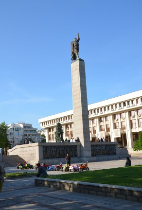 Monument of the Soviet Army in Burgas, Bulgaria