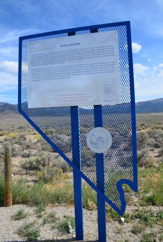 Schellbourne Rest Area in Nevada
