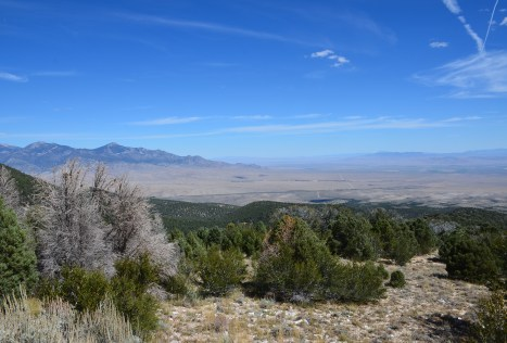 Wheeler Peak Scenic Drive in Great Basin National Park, Nevada
