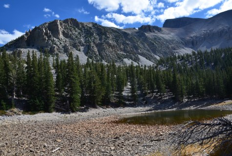 Teresa Lake on the Alpine Lakes Loop Trail at Great Basin National Park, Nevada