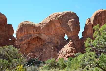 Parade of Elephants at the Windows Section at Arches National Park in Utah
