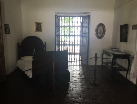 Father's room at Hacienda El Paraíso in Valle del Cauca, Colombia