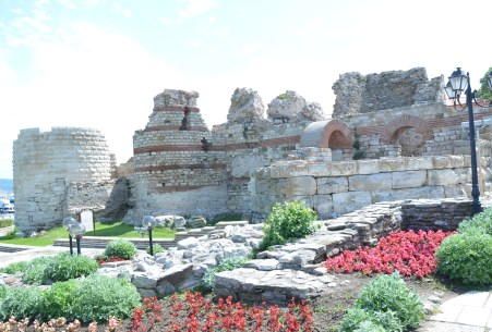 Fortifications in Nesebur, Bulgaria