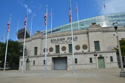 Soldier Field in Chicago, Illinois