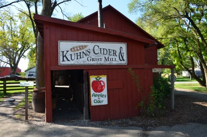 Cider & Grist Mill at Amish Acres in Nappanee, Indiana