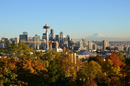 Seattle, Washington, from Kerry Park