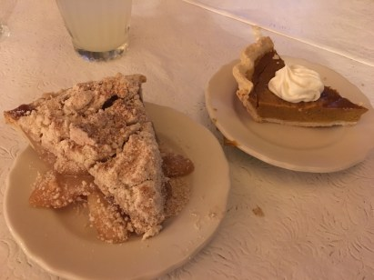 Dessert at Amish Acres in Nappanee, Indiana