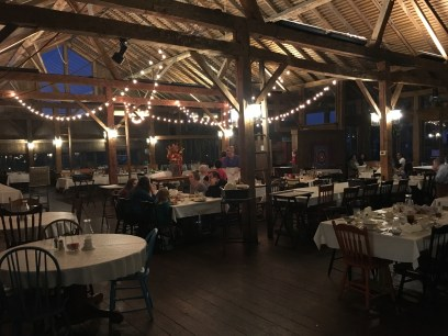 Dining room at Amish Acres in Nappanee, Indiana