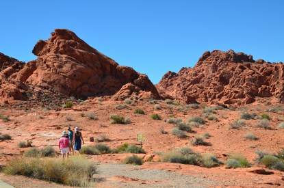 Elephant Rock Trail at Valley of Fire State Park in Nevada