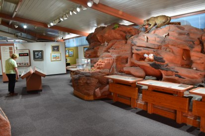 Visitor center at Valley of Fire State Park in Nevada