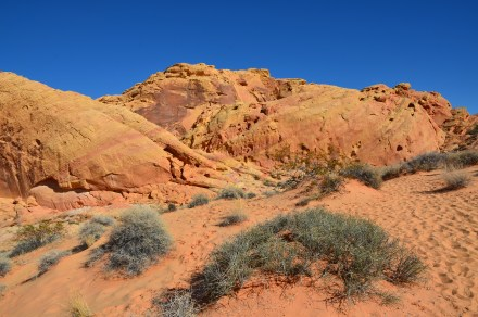 Rainbow Vista Trail at Valley of Fire State Park in Nevada