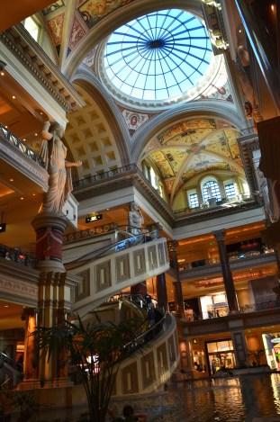 Atrium at the Forum Shops at Caesar's Palace in Las Vegas, Nevada