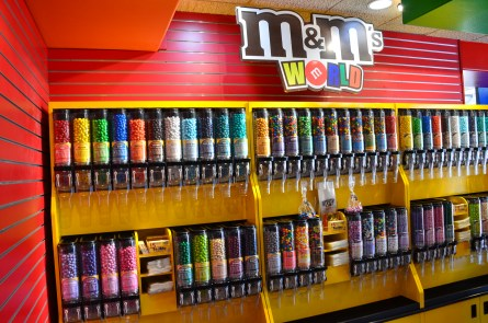 M&M World at the Ethel M Chocolate Factory in Henderson, Nevada