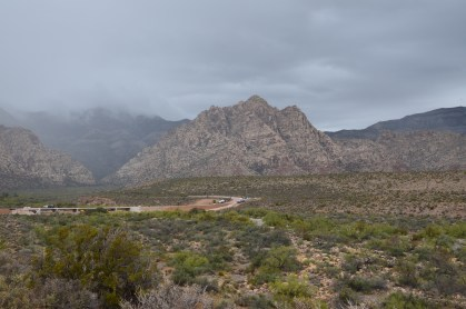 Red Rock Wash Overlook at Red Rock Canyon National Conservation Area in Nevada