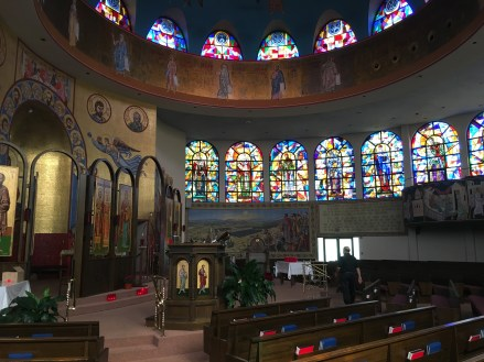 SS Constantine & Helen Greek Orthodox Cathedral in Merrillville, Indiana