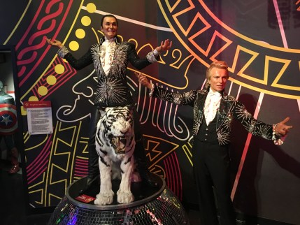 Siegfried and Roy at Madame Tussauds Las Vegas
