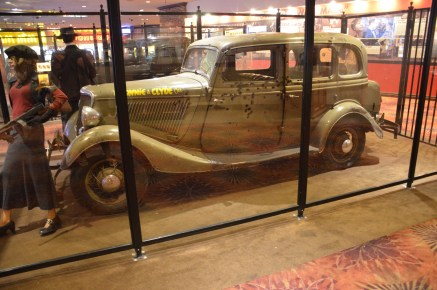 Bonnie & Clyde Car at Whiskey Pete's Casino in Primm, Nevada