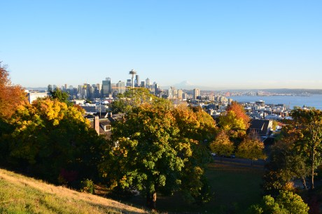 The view from Kerry Park in Seattle, Washington