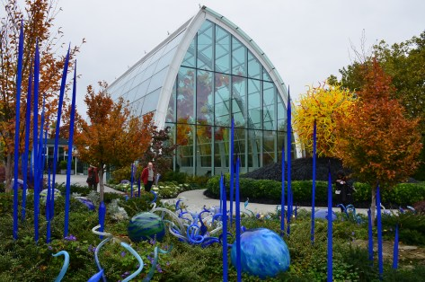 Glasshouse at Chihuly Garden and Glass in Seattle, Washington