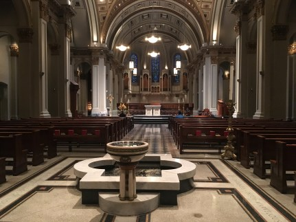 St. James Cathedral in Seattle, Washington