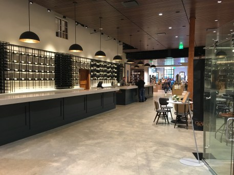 Tasting room at Chateau Ste. Michelle in Woodinville, Washington