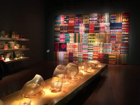 Interior exhibit at Chihuly Garden and Glass in Seattle, Washington