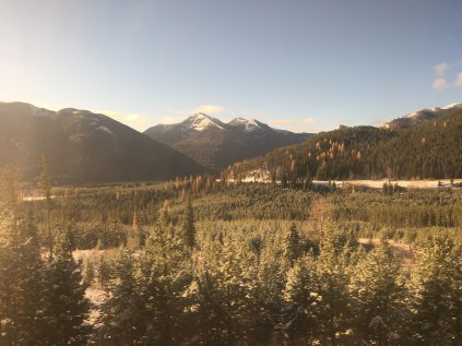Glacier National Park on the Amtrak Empire Builder from Seattle to Chicago