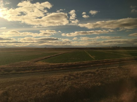 Great Plains on the Amtrak Empire Builder from Seattle to Chicago