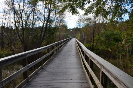 River Trail extension at Ocmulgee National Monument in Macon, Georgia
