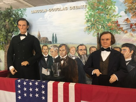 Lincoln-Douglas Debates at the Lincoln Museum in Hodgenville, Kentucky