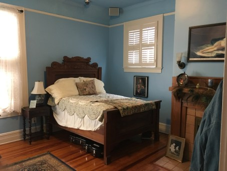 Duane Allman's bedroom at The Big House Museum in Macon, Georgia