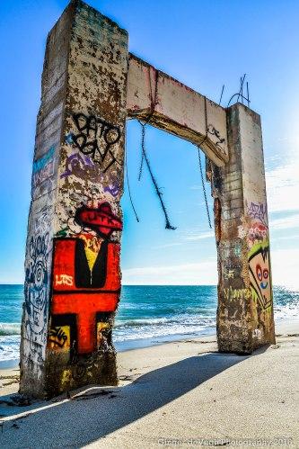 Davenport Pier remains