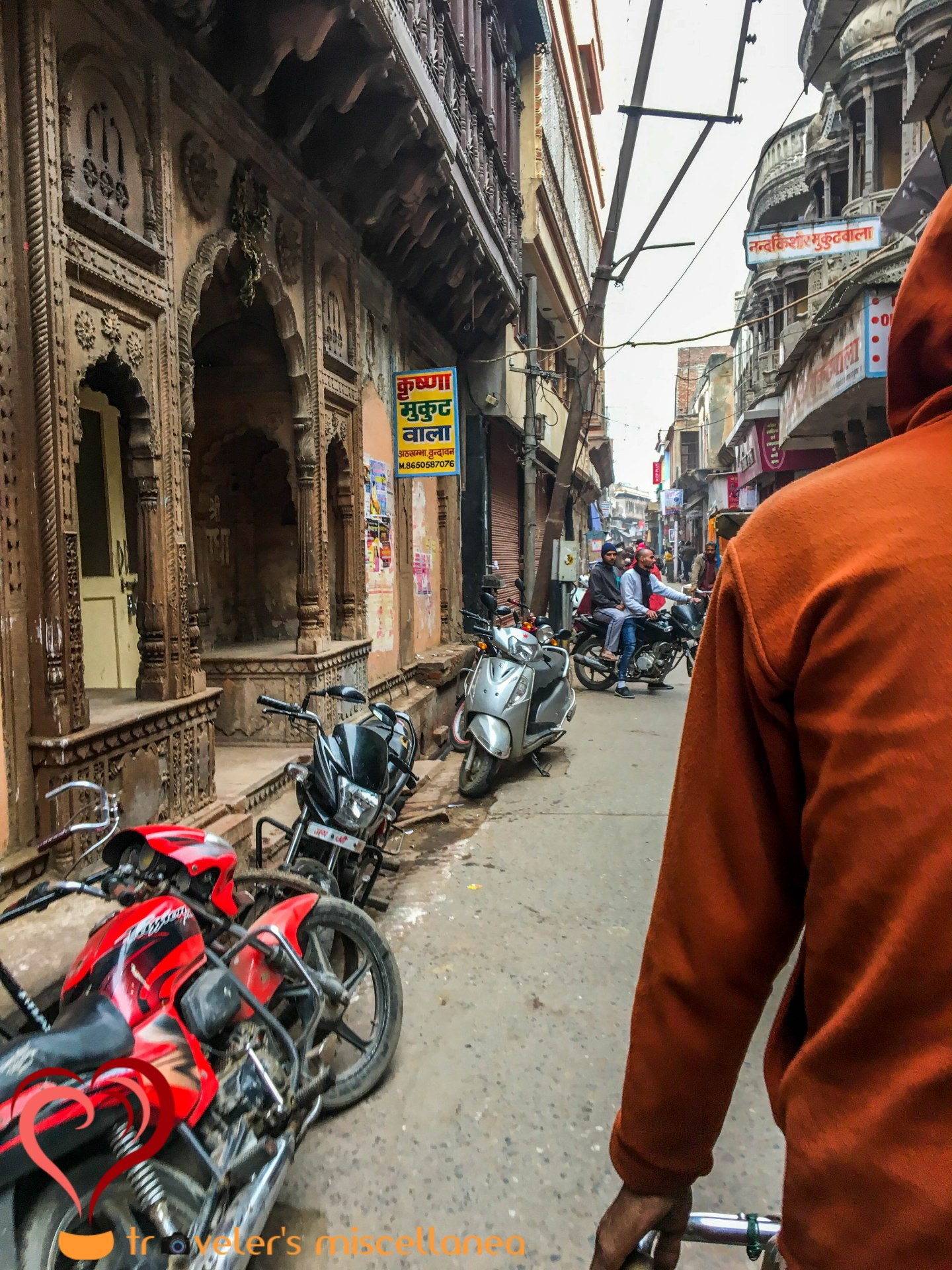 lanes of vrindavan