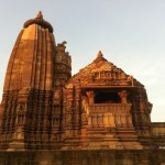 A temple in Khajuraho