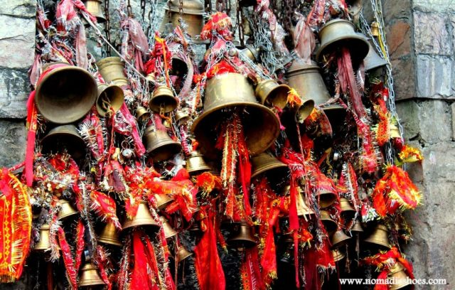 Bells in a temple