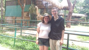 Us at Saigon zoo