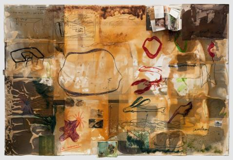 Fabrice Hyber: Peinture Homéopathique nr 14, 1999. © Fabrice Hyber / BONO