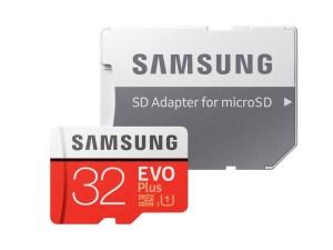 Samsung microSDカード 32GB EVO Plus Class10 UHS-I対応 ス