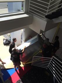 Team Work   Lifting Upstairs