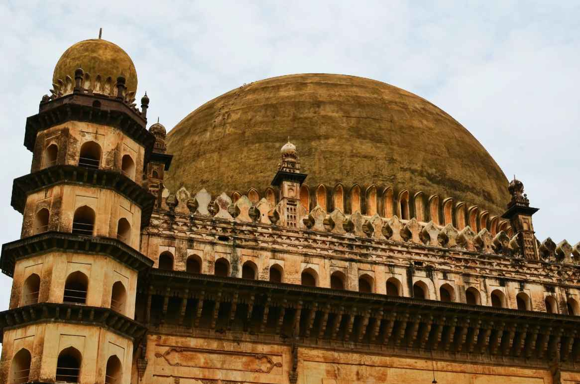 Gol Gumbaz - from Distance