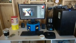 My work area